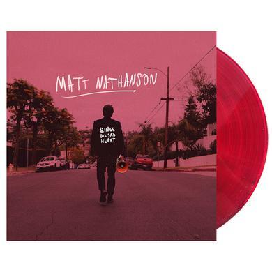 Matt Nathanson Sings His Sad Heart Vinyl [PREORDER]