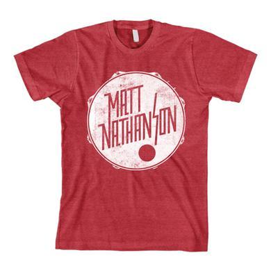 Matt Nathanson Drum Tee