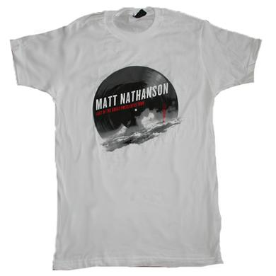 Matt Nathanson Sutro Tower Tour Tee White