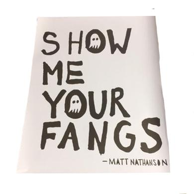 Matt Nathanson Show Me Your Fangs Poster