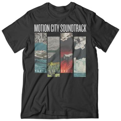 Motion City Soundtrack Panic Stations Bars Tee