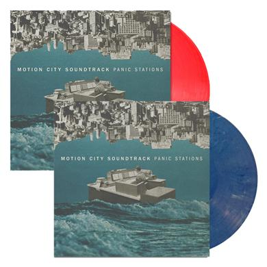 Motion City Soundtrack Panic Stations Red or Blue Vinyl