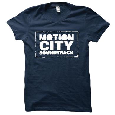 Motion City Soundtrack Navy Logo Tee