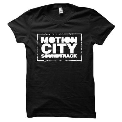 Motion City Soundtrack Black Logo Tee
