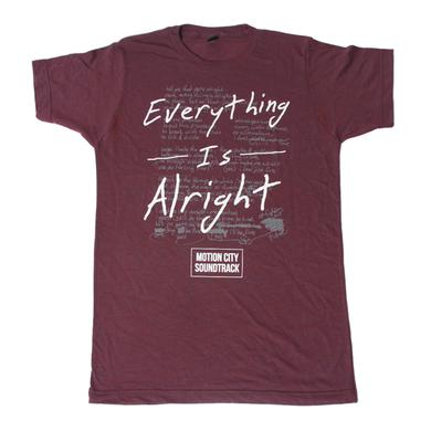Motion City Soundtrack Everything Is Alright Tri-Berry Tee