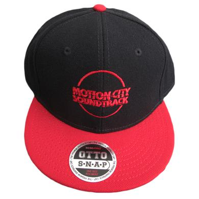 Motion City Soundtrack Red Logo Circle Hat