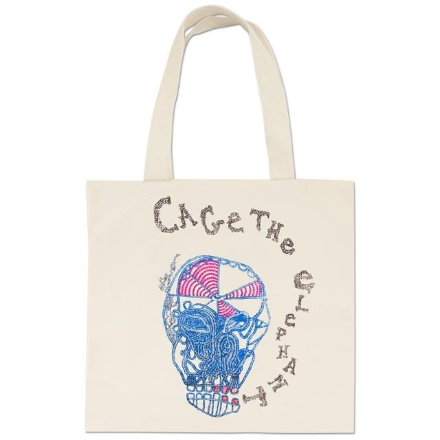 Cage The Elephant Eating Logo Tote Bag