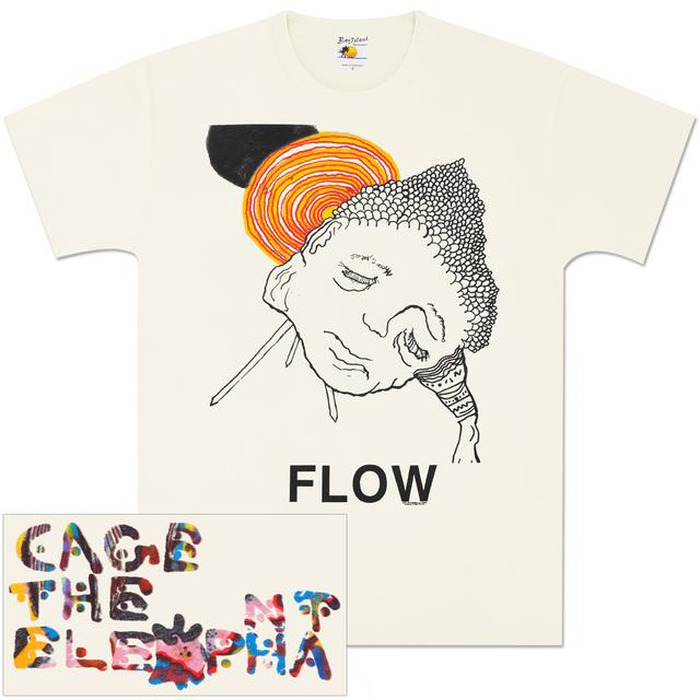 Cage The Elephant Flow T-Shirt