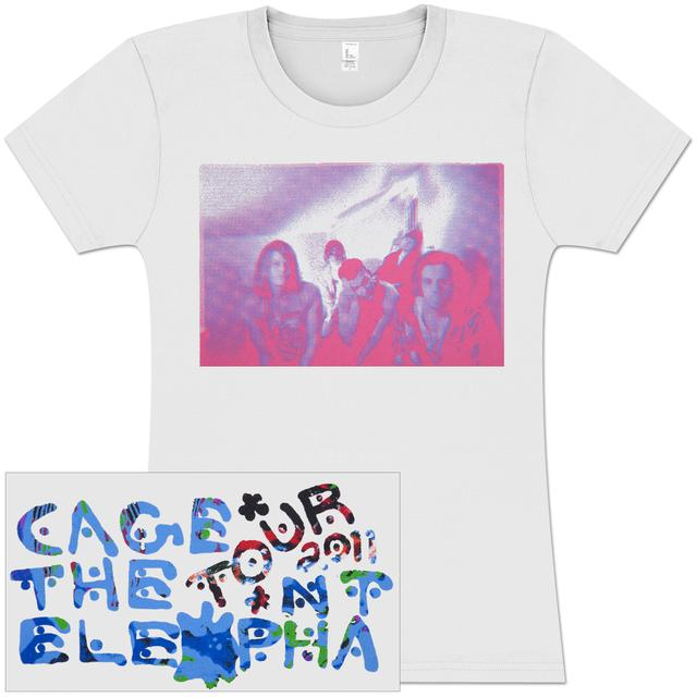 Cage The Elephant Photo Blur Junior's T-Shirt