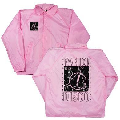 Panic At The Disco Pink Coach Jacket
