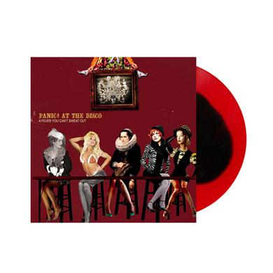 Panic At The Disco A Fever You Can't Sweat Out Red / Black  Vinyl