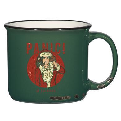Panic At The Disco Santa Holiday Mug