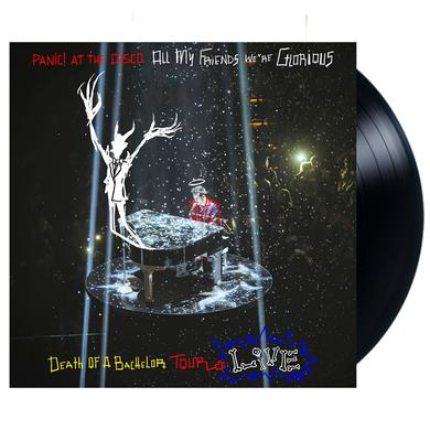 Panic At The Disco All My Friends We're Glorious: Death Of A Bachelor Tour Live Vinyl