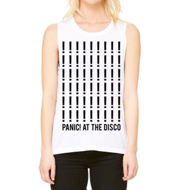 Panic At The Disco Ladies Repeat Exclamation Tank