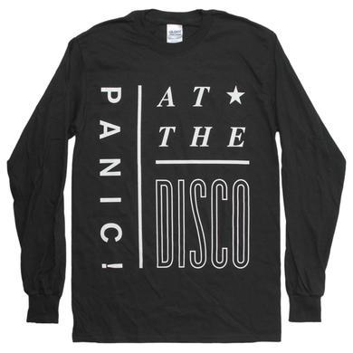 Panic At The Disco Interlock Black Long Sleeve