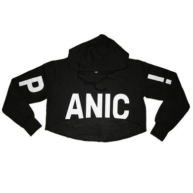 Panic At The Disco Crop Pullover Hoodie