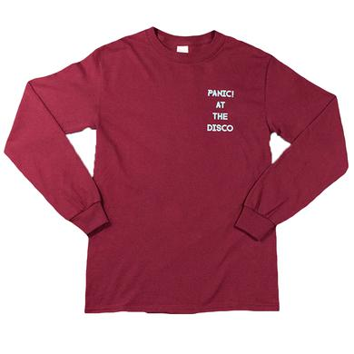 Panic At The Disco Maroon Lightning Long Sleeve
