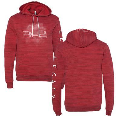 Red Smoke Logo Hoodie