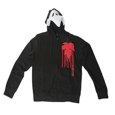 Red Custom Plague Hoodie