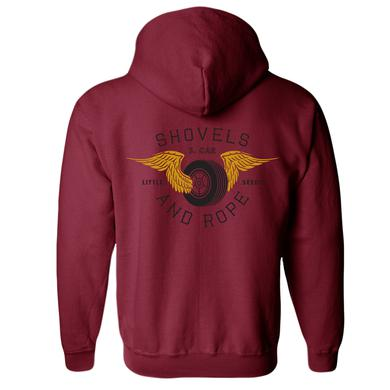Shovels & Rope Tire Wings Hoodie