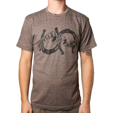 Shovels & Rope Brown Horseshoe Tee