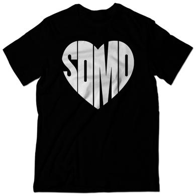 Somo Heart Black Tee