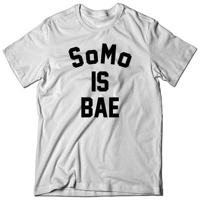 SoMo Is BAE White Tee
