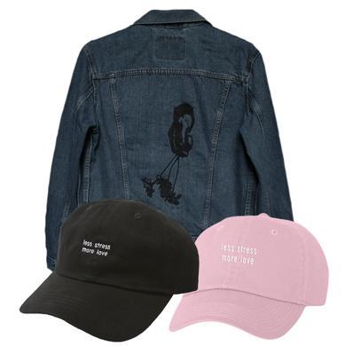 Somo Rose Jacket / Less Stress Hat Bundle