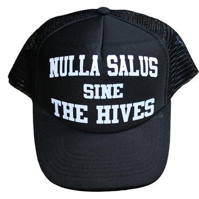 The Hives Nallus Salus Black Trucker Hat