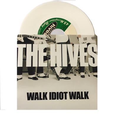 The Hives Walk Idiot Walk White Vinyl