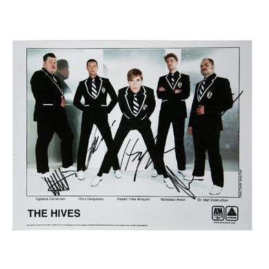 The Hives 8 x 10 Signed Photo