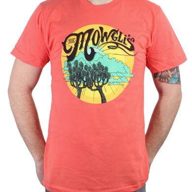 The Mowgli's Guys Tree Light Orange T-Shirt