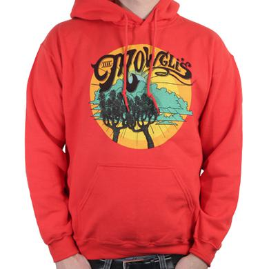 The Mowgli's Tree Dark Orange Hoodie