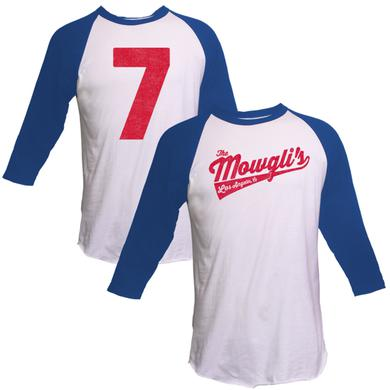 The Mowgli's Blue Sleeve Raglan