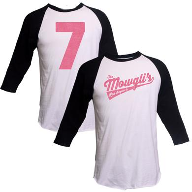 The Mowgli's Black Sleeve Raglan