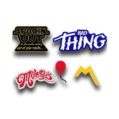 The Mowgli's 5 Piece Pin Set