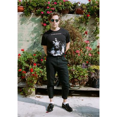 The Naked And Famous Flowers Black Tee