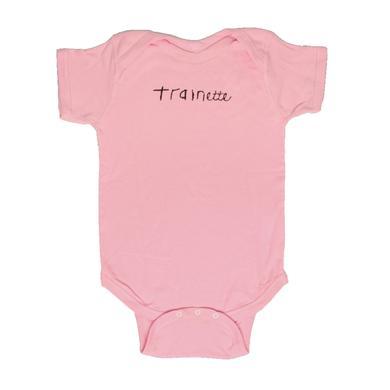 Trainette Pink Onesie