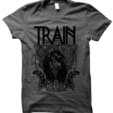 Train Grey Angels and Children Tee