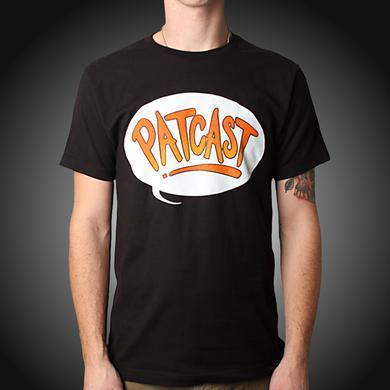 Train Patcast Logo Black Tee