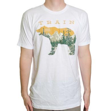 Train White Bear Tee