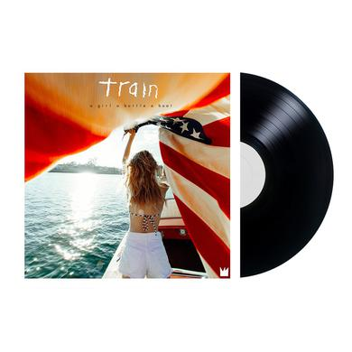 Train a girl a bottle a boat Vinyl