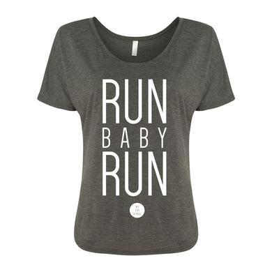 We the Kings Run Baby Run Ladies Slouch Tee