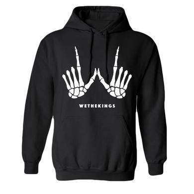 We the Kings Skeleton Hands Hoodie