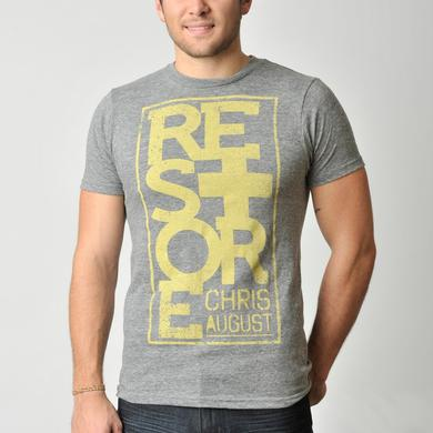 Chris August RESTORE STACKED T-SHIRT