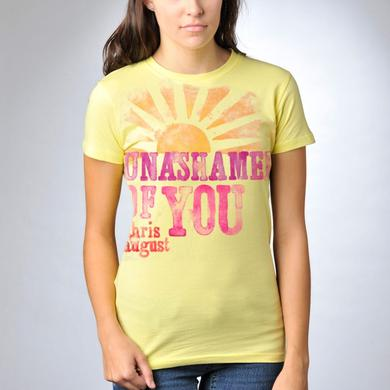 Chris August UNASHAMED OF YOU SUNSHINE T-SHIRT