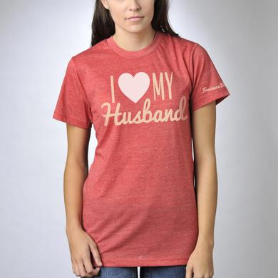 Francesca Battistelli I Heart My Husband T-Shirt