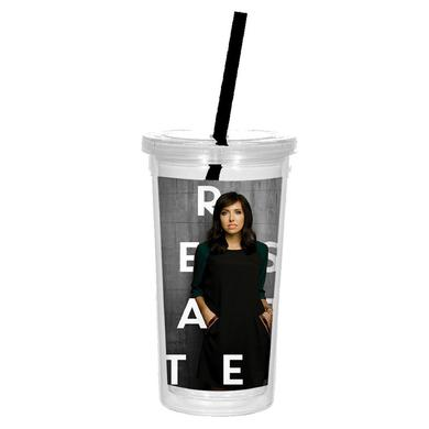 Francesca Battistelli Logo Water Tumbler
