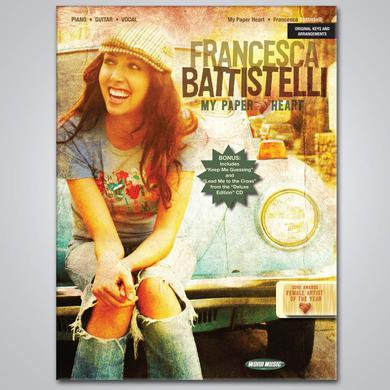 Francesca Battistelli My Paper Heart Songbook