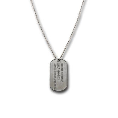 Group 1 Crew MAKE JESUS FAMOUS DOG TAG